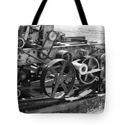 Wheels Gears And Cogs Tote Bag