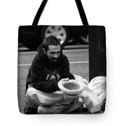 Wheels Keep Turning Tote Bag