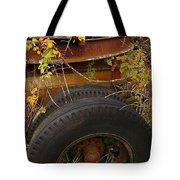 Wheels Of Autumn Tote Bag