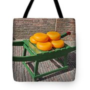Wheels Of Dutch Gouda Cheese Tote Bag