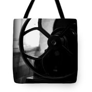 Wheels Of Production Tote Bag