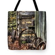 Wheels Of Time Tote Bag by Benanne Stiens