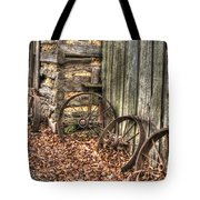 Wheels Of Time Two Tote Bag