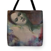 When A Dream Has Colored Wings Tote Bag by Dorina  Costras