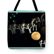 When Cows Jump Over The Moon Tote Bag