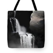 When Darkness Falls Tote Bag