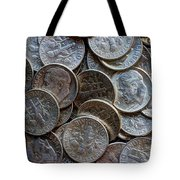When Dimes Were Made Of Silver Tote Bag