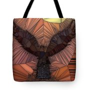 When Eagles Fly Tote Bag