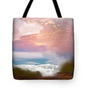 When Heaven Breaks - Surrealism Tote Bag