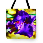 When Iris Eyes Are Smiling Tote Bag