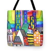 When Old Meets New Tote Bag