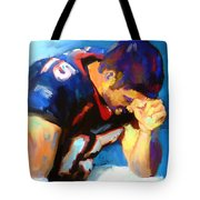 When Tebow Was A Bronco Tote Bag