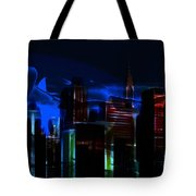 When The City Sleeps Tote Bag