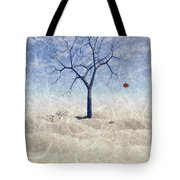 When The Last Leaf Falls... Tote Bag by John Edwards