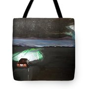 When The Night Start To Walk Listen With Music Of The Description Box Tote Bag