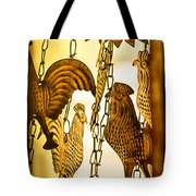 When The Rooster Crows Tote Bag