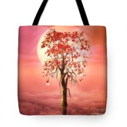 Where Angels Bloom Tote Bag