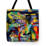 Where Are You Going 6 Tote Bag