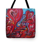 Where Broken Hearts Go Tote Bag