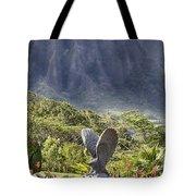 Where Eagles Fly Tote Bag