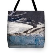 Where Glaciers Meet Tote Bag