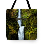 Where Gnomes And Trolls Play Tote Bag