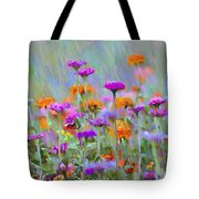 Where Have All The Flowers Gone Tote Bag by Bill Cannon