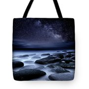 Where No One Has Gone Before Tote Bag by Jorge Maia