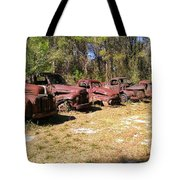 Where Old Vehicles Go Tote Bag