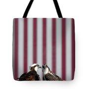 Where Ospreys Dare Tote Bag