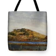 Where The Bay Meets The Hill Tote Bag