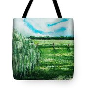Where The Green Grass Grows Tote Bag