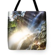Where The Light Meets The Water Tote Bag