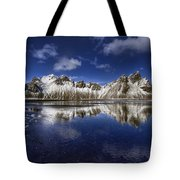 Where The Mountains Meet The Sky Tote Bag