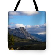 Where The Valley Leads Tote Bag
