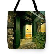 Where The World Turns Tote Bag