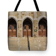 Which Door Will You Choose Tote Bag