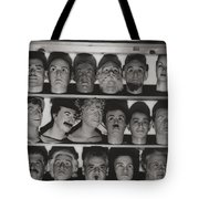 Find The Real Ventriloquist Head Tote Bag