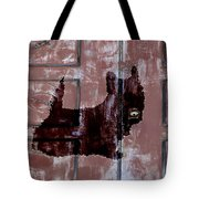 Which One Is My Dog Door? Tote Bag