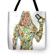 While My Smartphone Gently Weeps Tote Bag