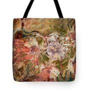 While The Lady Lay Sleeping Tote Bag