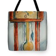 Whimsical Time Piece Tote Bag