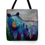 Whimsy Bear Painting Black Bear Brown Bear Wall Art Tote Bag