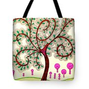 Whimsy Tree Tote Bag