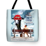 Whippet Art - Forrest Gump Movie Poster Tote Bag