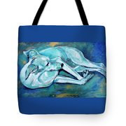 Whippet-effects Of Gravity-3 Tote Bag