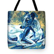 Whippet-effects Of Gravity 5 Tote Bag