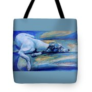 Whippet-effects Of Gravity-6 Tote Bag