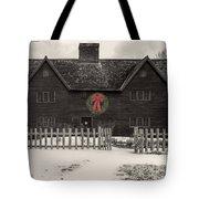 Whipple House Christmas Tote Bag