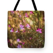 Whirling Butterfly Bush Tote Bag
